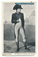 c1919 Guerin Boutron NAPOLEON BONAPARTE Chocolat Card Postcard premium advertise