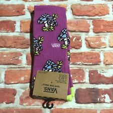 VANS Mushroom Socks Purple Mens New