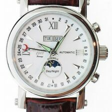 German AUTOMATIC calendar day/date/month/sec/sun+moon A1091