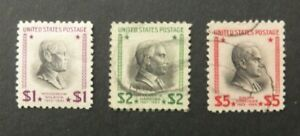 USA 1938 Presidents of the United States  High Values (MH/Used)