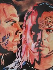 Autographed Hardy Boys 18 x 24 Poster, Print Impact Wrestling WWE TNA Matt Jeff
