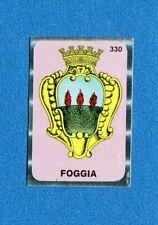 TUTTA ITALIA 1985 -FOL-BO- Figurina-Sticker n. 330 - FOGGIA STEMMA -New