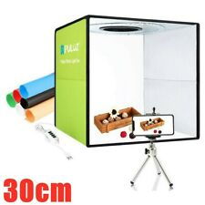 LED Portable Light Box Photo Studio Photography Shooting Tent Kit with Backdrop