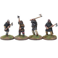 Viking Bondi with Dane axes #2 Footsore Miniatures SAGA 03VIK116