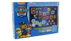 Paw Patrol My Learning Tab Tablet Learn Numbers Letters Colours Educational Toy