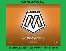 Eduardo Rodriguez Red Sox 2021 Panini Mosaic Choice 1X Case 20X BOX BREAK #1