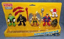IMAGINEXT DC SUPER FRIENDS 2012 HEROES SET 4 FIGURE SET