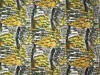 1950s Vintage Fabric Original Print - (F1-50s) Toadstool
