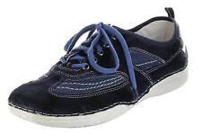 Josef Seibel Sneaker ocean Leder-Halbschuhe Lederdecksohle Herren Schuhe Ken 07