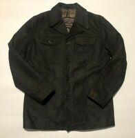 Marlboro classics mens leather jacket XL
