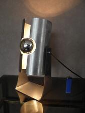 Vintage 70S Lámpara Luces De Escritorio Ovni edad Atómico Diseño Retro Penton Eames era viejo
