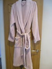 LADIES MARKS & SPENCERS DRESSING  GOWN  NEW SIZE  super soft 12-14