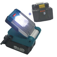2pcs  6.0AH li-ion +LED Worklight for MAKITA  bl1860 Slider Tool Li-ion Battery