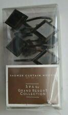 Sears Spa Grand Resort Bonze Diamond Shaped Metal Shower Curtain Hooks