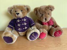Harrods 1997 Henry Christmas Teddy Bear & 2000 Millenium Bears