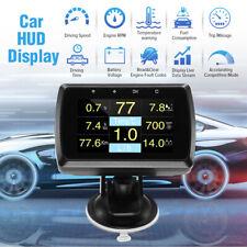 A501 HUD Display OnBoard OBD2 Kraftstoffverbrauch Tachometer Auto Digitalanzeige