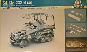 Sd.Kfz. 232 6 rad - art. 6445 - Italeri 1/35