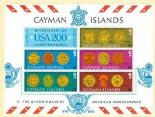 Cayman Islands 376a US Independence Bicent. souvenir sheet MNH Americana
