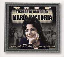 MARIA VICTORIA Tesoros de Coleccion Celebrando 60 Anos de Historia Musical BOX