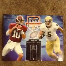 2013 BCS National Championship Poster alabama vs notre dame