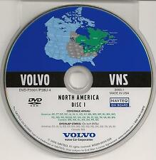 2003 to 2007 Volvo V50 XC70 S60 S40 V70 Navigation DVD Map Midwest & Northeast