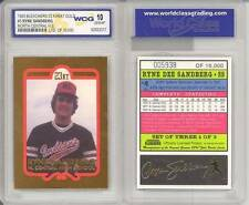 RYNE SANDBERG 1993 Rookie 23KT Gold Card Graded GEM MINT 10 High School * BOGO *