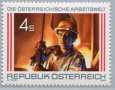 Österreich Austria 1973  Arbeitswelt (I): Stahlarbeiter am Hochofen - 1986 **