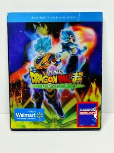 Dragon Ball Super: Broly (Blu-ray, 2018) Complete 2-Disc with Slipcover DBZ