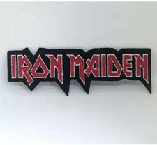 IRON MAIDEN Rock Punk Music Band Logo Iron on sew on embroidered patch