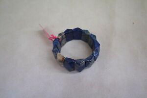 LOLA ROSE MAUD BLUE FOSSIL JASPER BRACELET PRECIOUS STONE ##DER3CL59