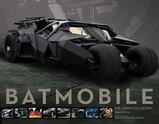 Batmobile: The Complete History Book~Stunning Photos~Specs~Blueprints~NEW HC