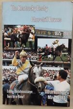 THE KENTUCKY DERBY Churchill Downs 1875-1984 110th Running May 5, 1984 SC book