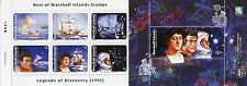Marshall Islands 2015 MNH Legends of Discovery 7v M/S Space Columbus Santa Maria
