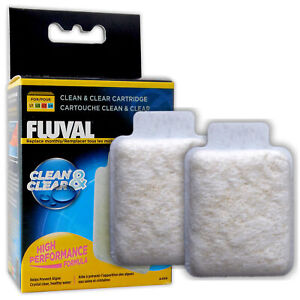 FLUVAL CLEAN & CLEAR CARTRIDGES HIGH PERFORMANCE FILTER MEDIA AQUARIUM FISH TANK