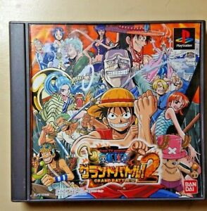 One Piece Grand Battle 2 Sony PlayStation  japan game ps2