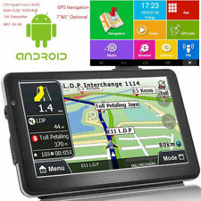 Android Quad Core 16GB Car GPS Navigation Sat Na AV-IN Bluetooth WIFI FM
