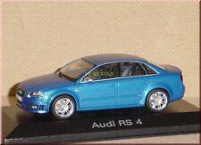 AUDI RS4 RS 4 Limousine saloon sedan 2005 blau blue blue azzurro Minichamps 1:43