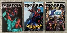 Marvel Encyclopedia (2002) Spider-Man (2003) & X-Men (2003) Hardcovers