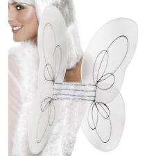 Halloween Fancy Dress FEATHER WINGS noir ailes d'ange 40x30cm Par Smiffys Neuf