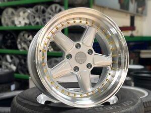 "New 17"" Staggered AC Schnitzer Design Wheel (set of 4) BMW E46 E90 E36 E38 Z4 Z3"