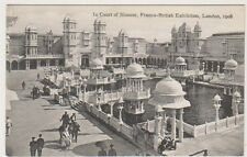Franco British Exhibition, London 1908 postcard - In Court of Honour