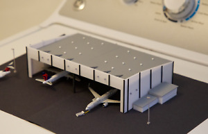 1/400 Narrow Body Aircraft Hangar for Model Airport