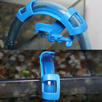 Aquarium Filtration Water Pipe Filter Hose Holder For Mount Tube Fish Tank O< YK