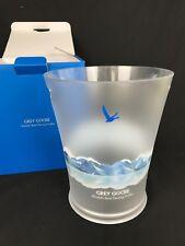 Grey Goose Vodka Kühler Eis Box Acryl Bucket NEU Bar Deko OVP Behälter Eisbox