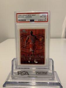1999 Upper Deck MVP Michael Jordan #208 PSA VG-EX 4
