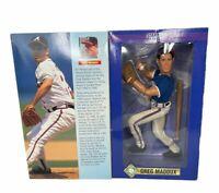 "GREG MADDUX 1997 Startling Lineup SLU 12"" Fully Poseable Figure NIB Braves MLB"