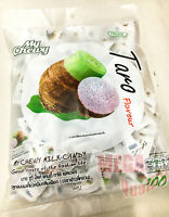 360g. 100 Tablets Haoliyuan My Chewy Taro Flavor Milk Candy Soft Party Snack