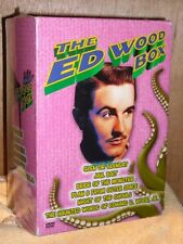 Ed Wood Collection (DVD, 2004, 6-Disc Set) most legendary B-movie director