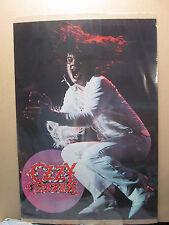 Vintage Ozzy Osbourne 1981 poster heavy metal 10165