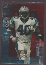 WILLIAM FLOYD 1998 PLAYOFF MOMENTUM HOBBY RED REFRACTOR SP PANTHERS 49ERS $8